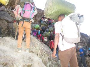 Local Professional guides on Kilimanjaro